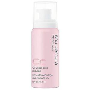 Shu Uemura UV under base mousse POREraser CC pink