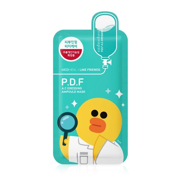 Mediheal Line Frennds P.D.F AC Dressing Mask 10Sheets