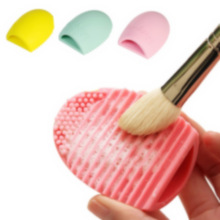 Cosmetic Make-Up Brush Egg Cleaning Tool (7 Colours Available)