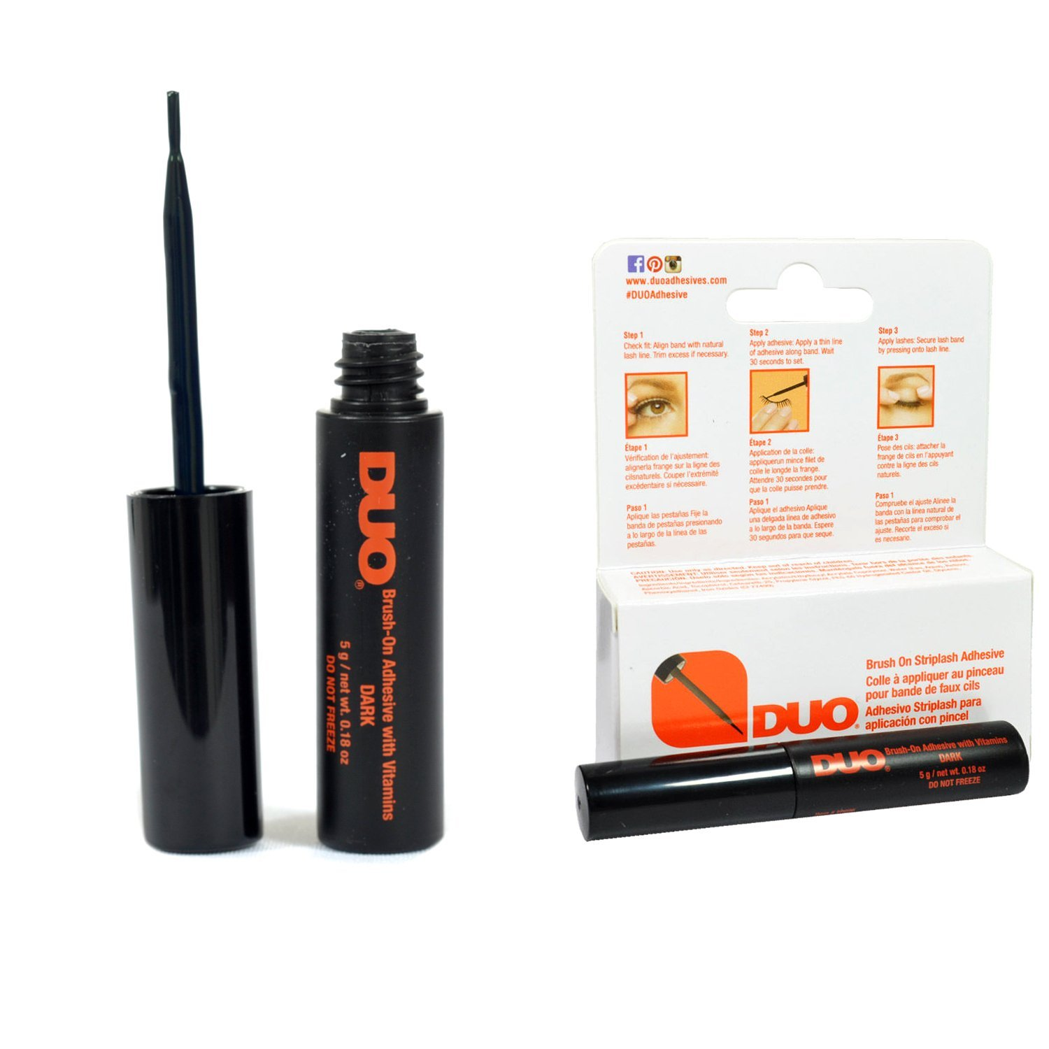 6ce6db55674 Ardell Duo Dark Brush on Adhesive by Ardell | Favful