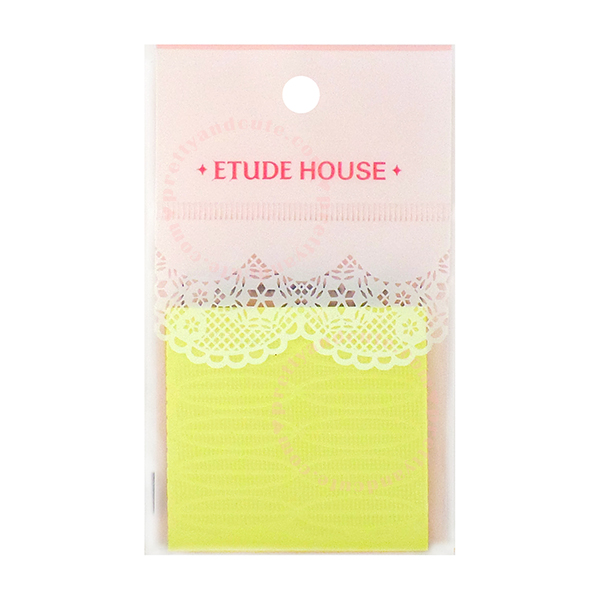 Etude House Double Eyelid Tape in Yellow by Etude House