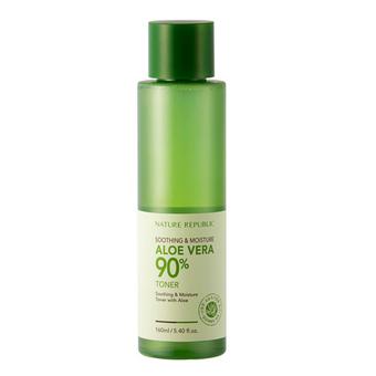 Import nature republic soothing and moisture aloe vera 90 toner 160ml 5954 7475211 1 product