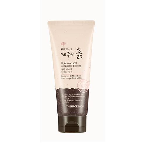 The Face Shop - Volcanic Soil Deep Pore Peeling 120ml