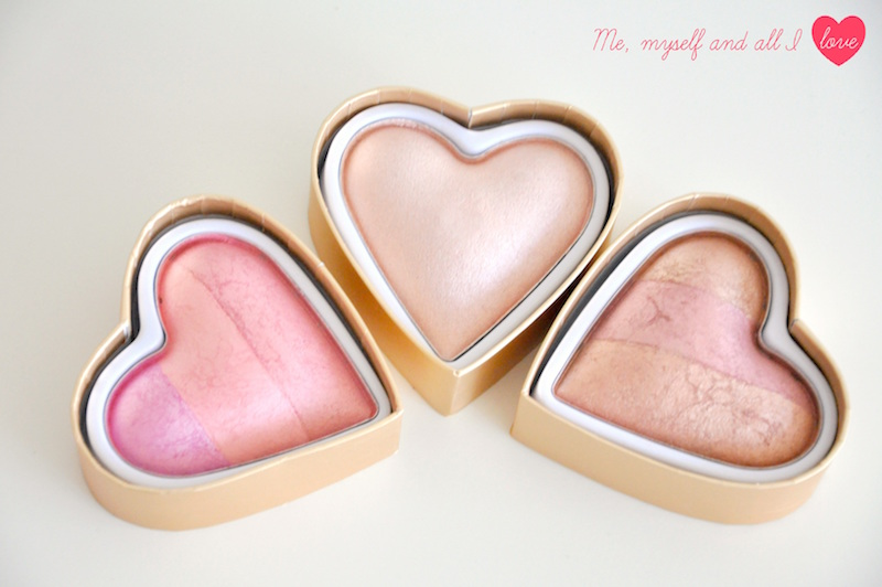 Sun kissed i heart makeup