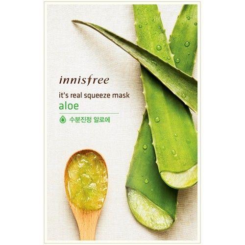 Innisfree It's Real Squeeze Mask Aloe 1sheet