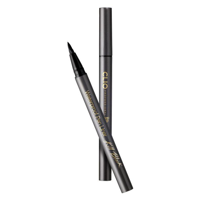 CLIO Waterproof Pen Liner Killblack 001 Black