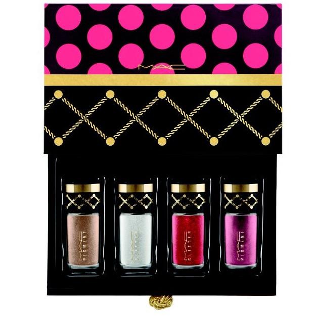 MAC Cosmetics Nutcracker Sweet Gold Pigments and Glitter Kit