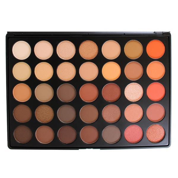 Morphe 350-Colour Nature Glow Eyeshadow Palette